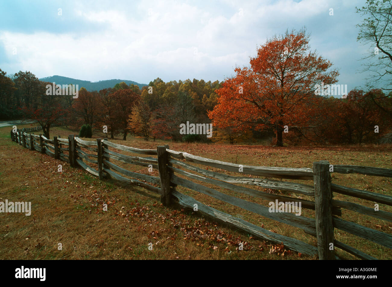 rail fence styles. Split Rail Fence In Appalachian Mountains Along Blue Ridge Parkway Styles