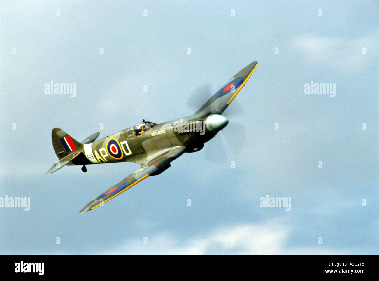 SPITFIRE MKVb - British WW2 aircraft - Stock Image