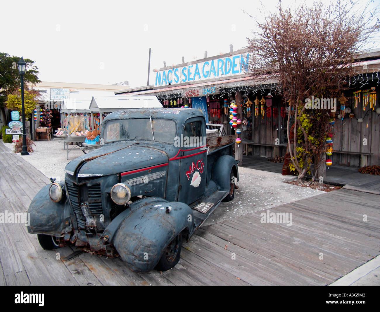 Vintage General Motors Truck - Stock Image