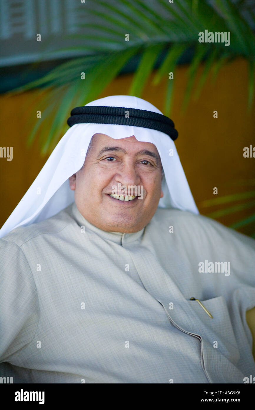 Kuwait - Kuwait gentleman in National Dress (Winter) - Stock Image