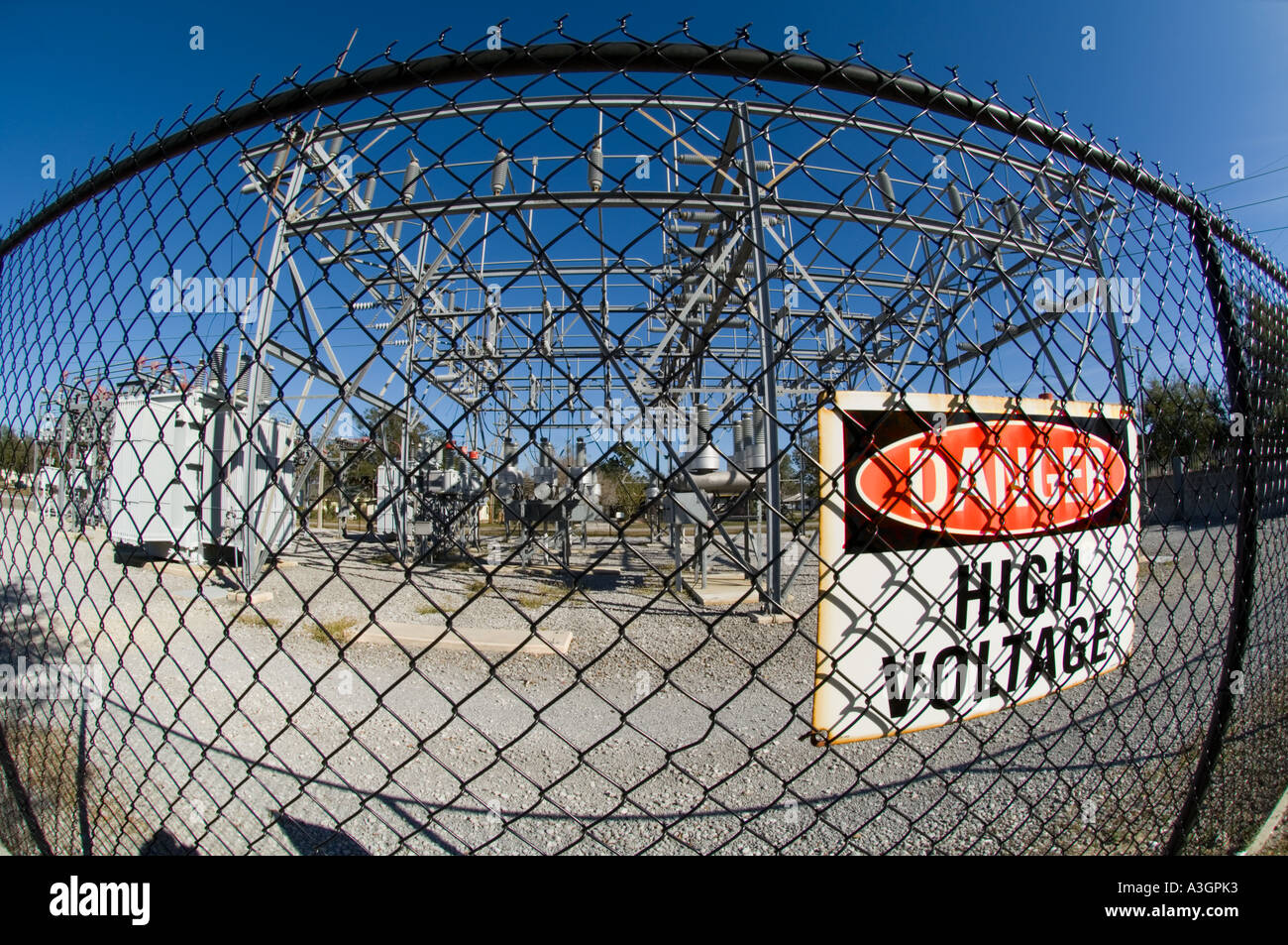 High Voltage Fence Stock Photos Amp High Voltage Fence Stock