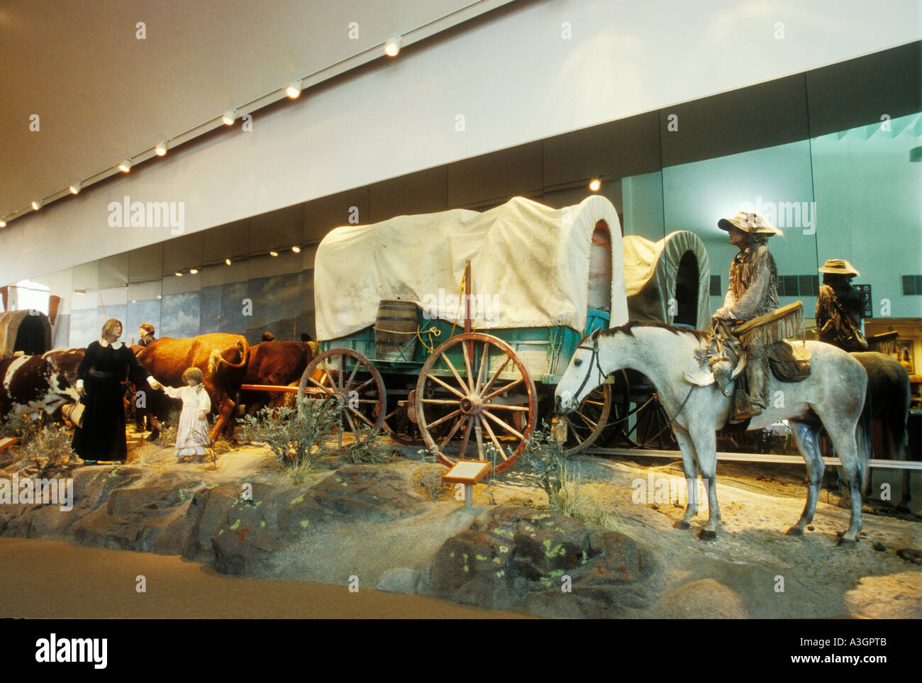 Oregon Trail Museum Stock Photos & Oregon Trail Museum Stock