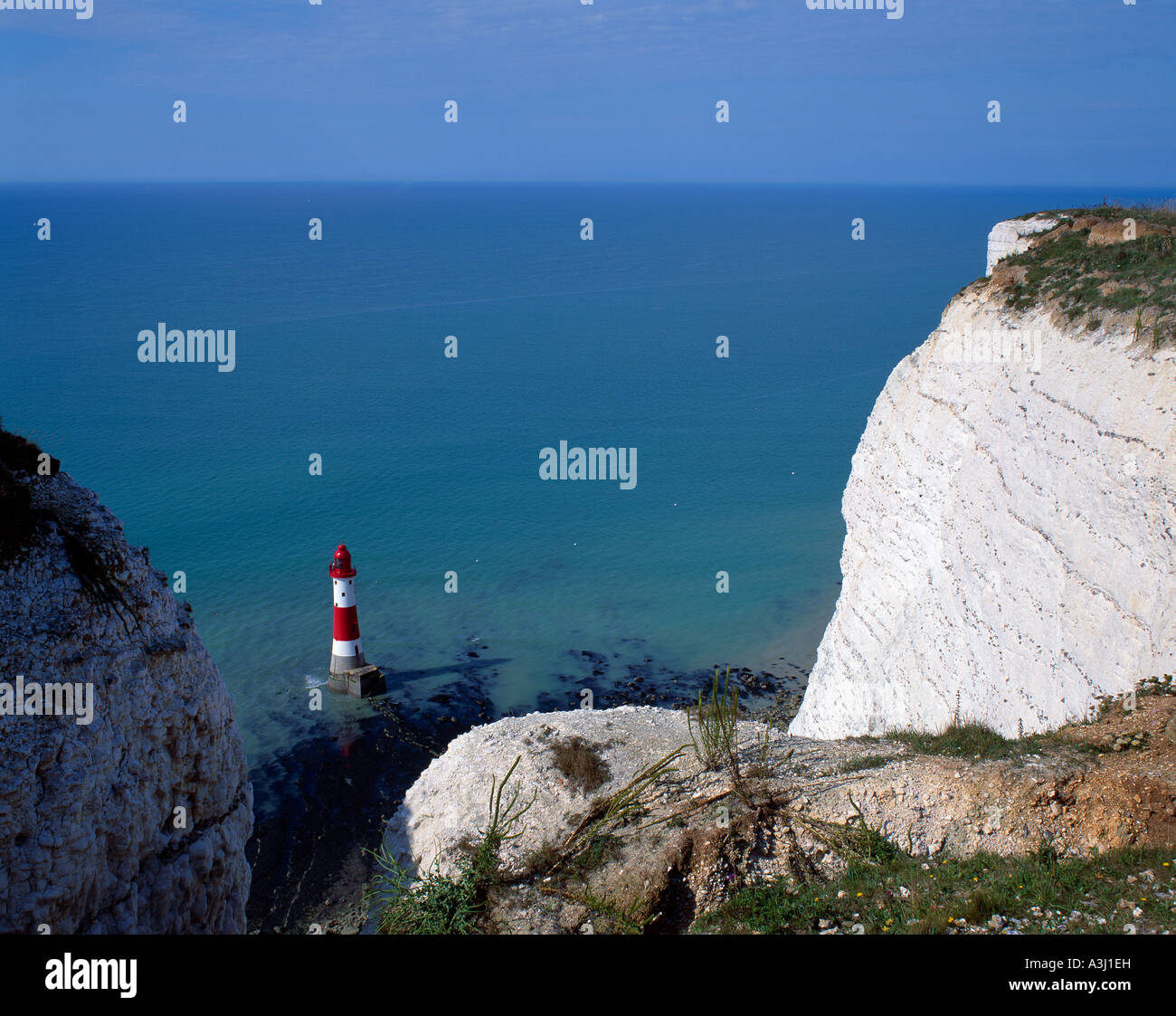 Beachy Head East Sussex England UK - Stock Image