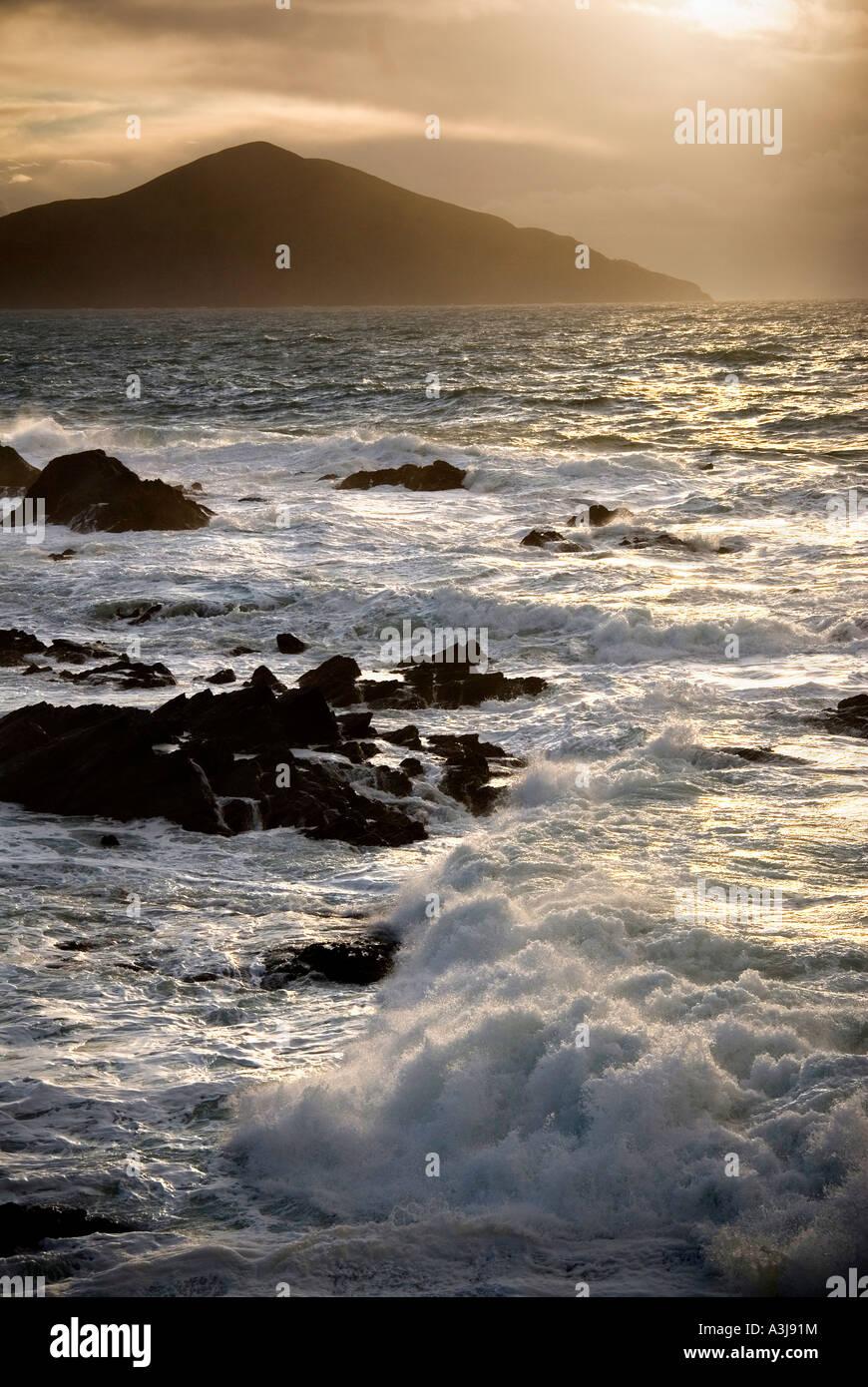 Atlantic Drive, Achill Island, Co. Mayo, Ireland - Stock Image