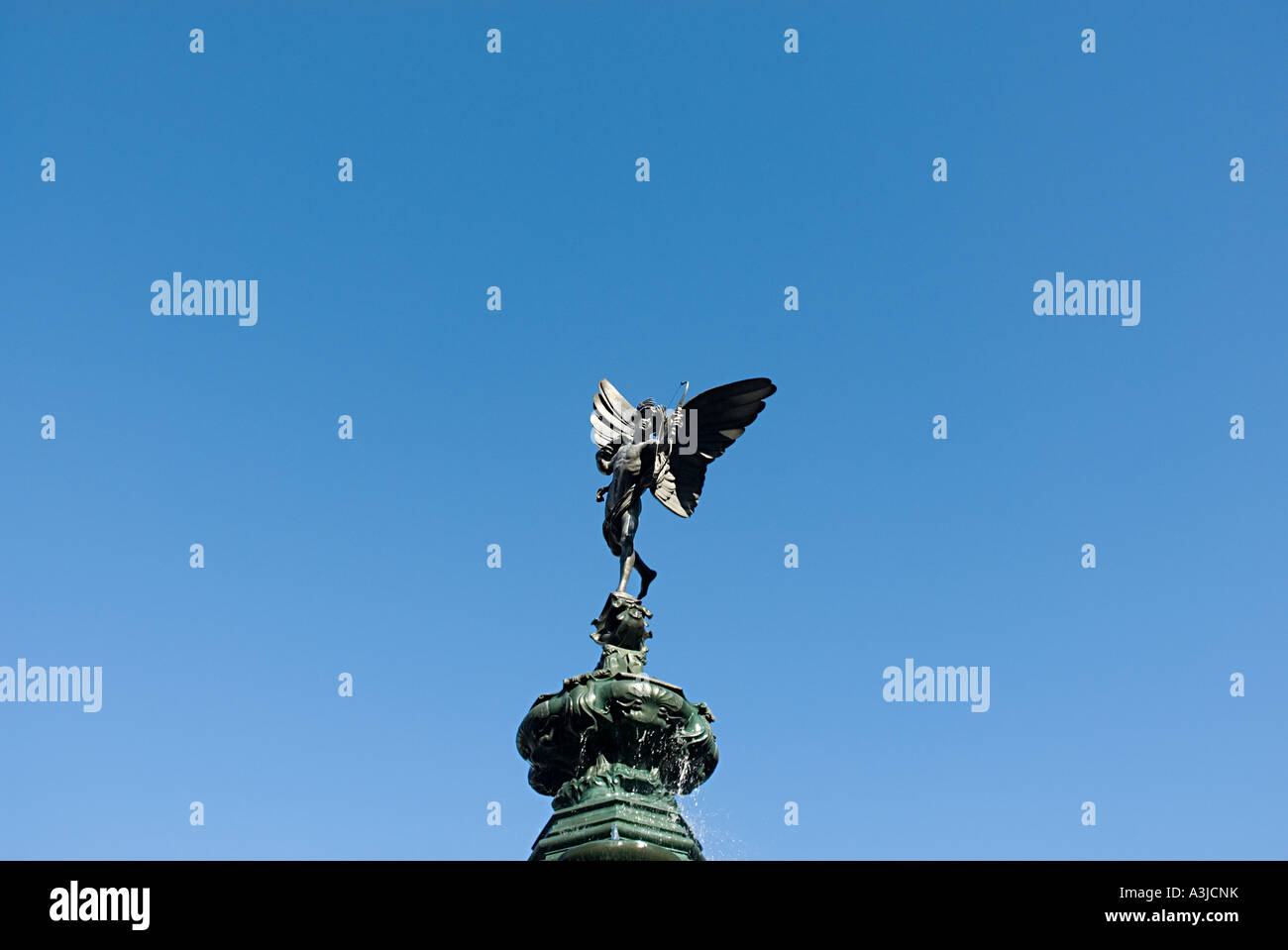 Statue of eros - Stock Image