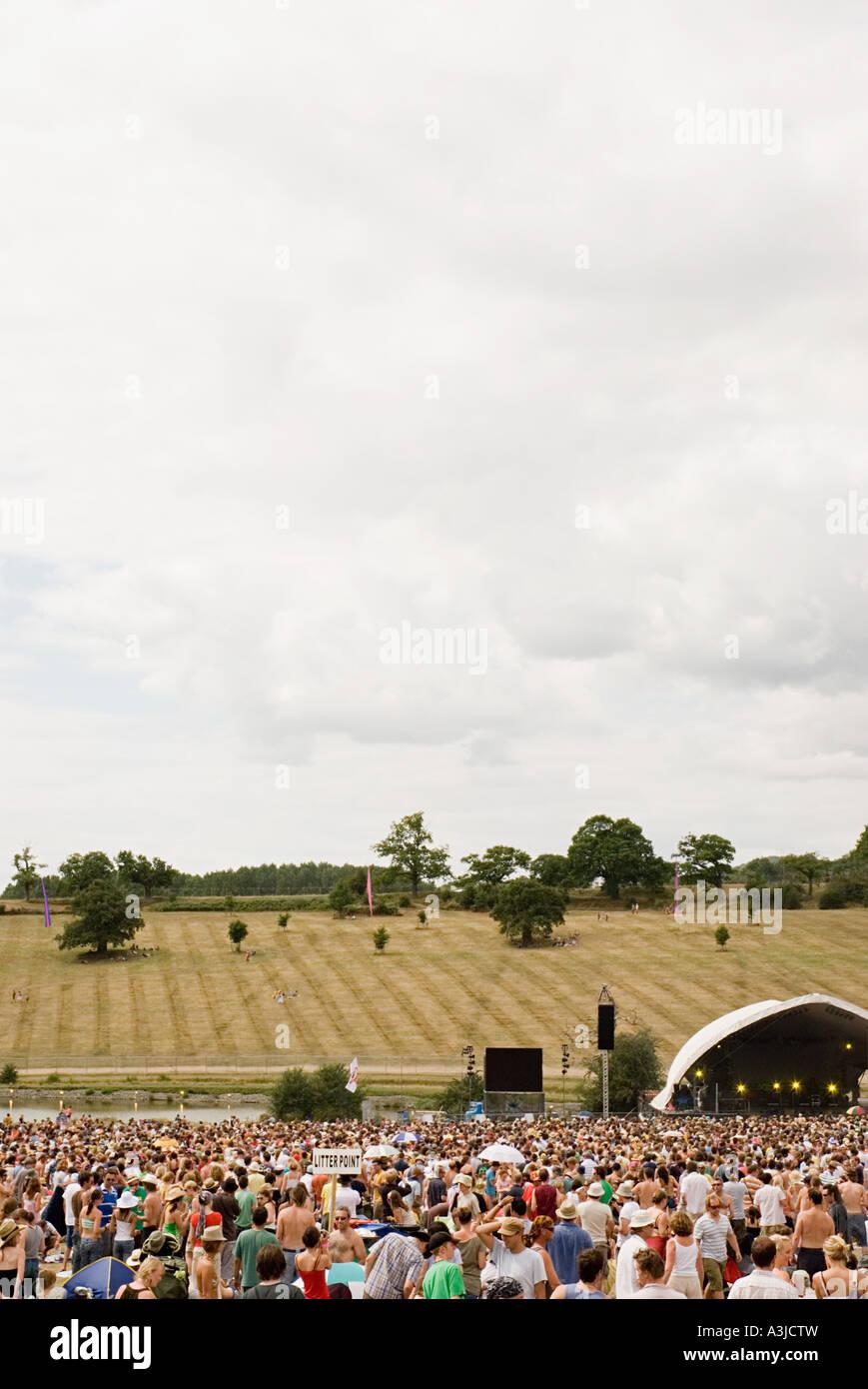 Summer festival - Stock Image