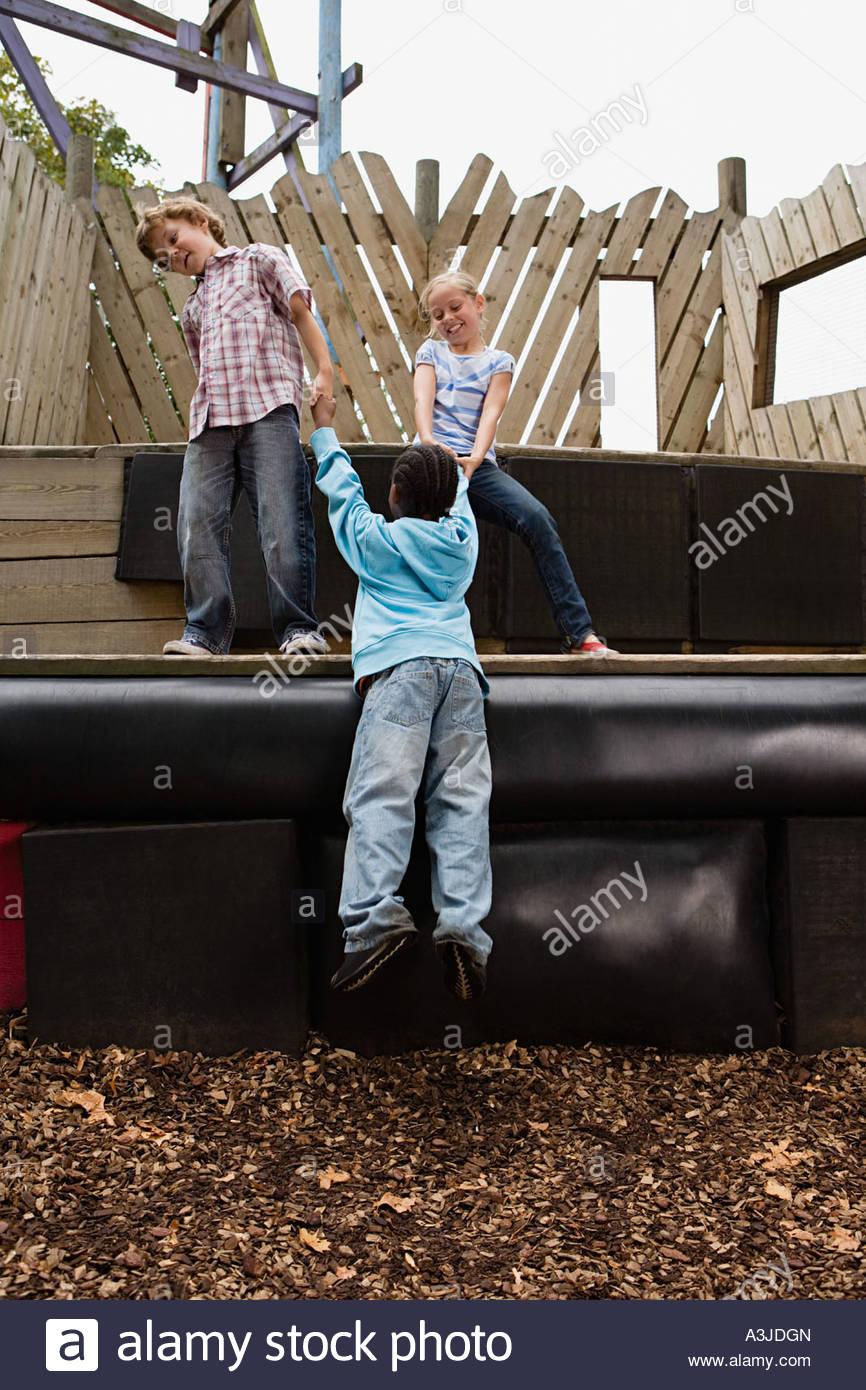 Kids Climbing Frame Stock Photos & Kids Climbing Frame Stock Images ...