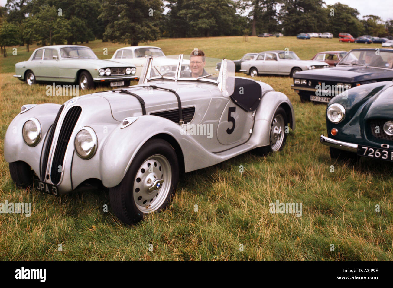 Bmw 328 Two Seat Open Sports Car From 1938 9 Seen At A Bristol