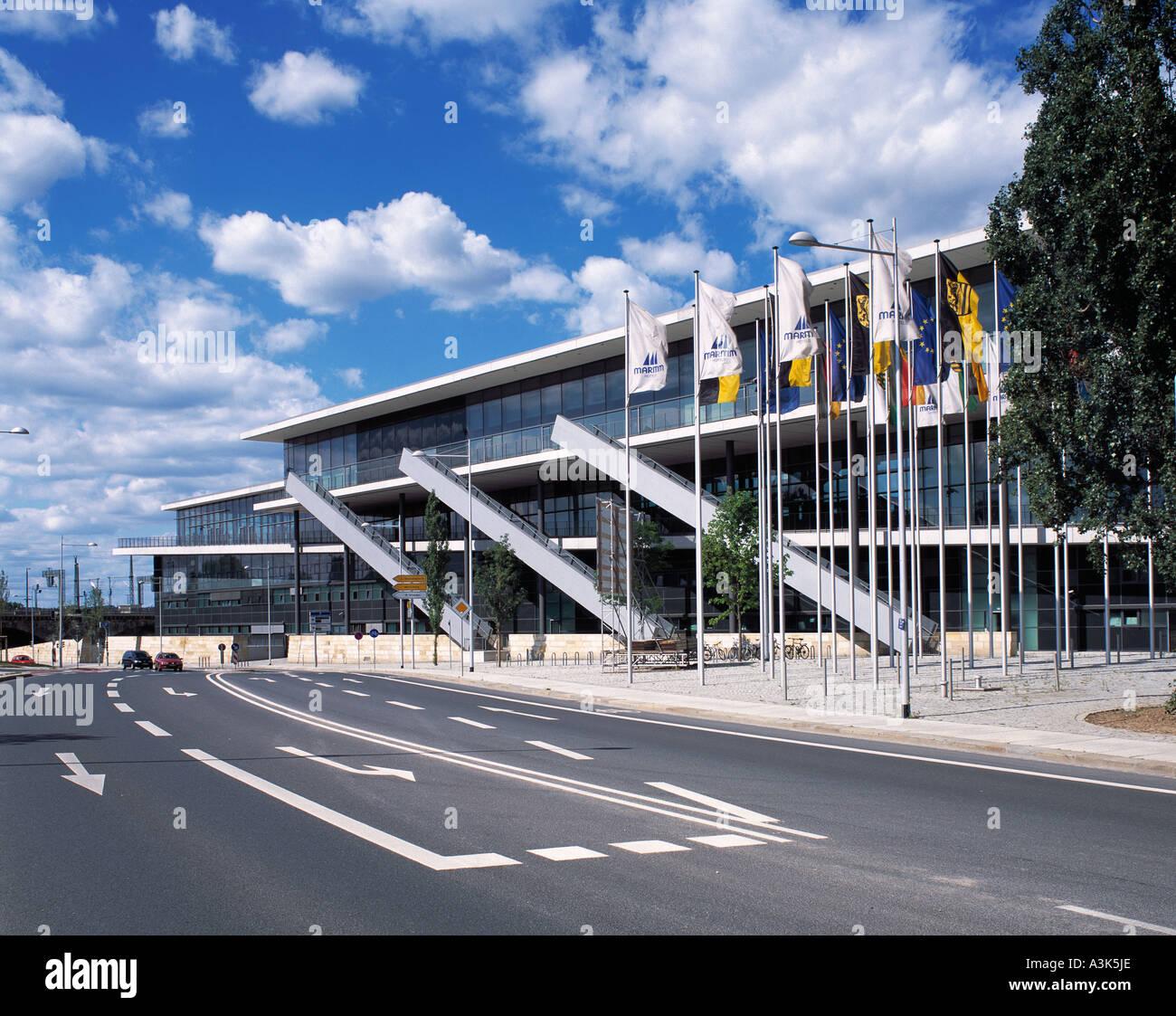 Internationales Kongresszentrum in Dresden - Stock Image