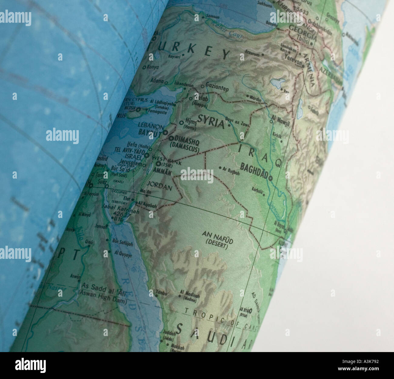 World Map Rolled Up Scroll Stock Photos World Map Rolled Up Scroll