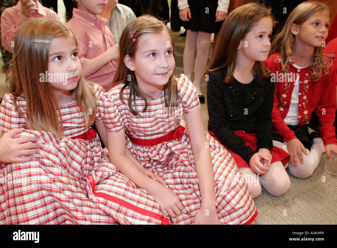 Watch Office Christmas Party.Miami Florida Office Christmas Party Children Girls Watch