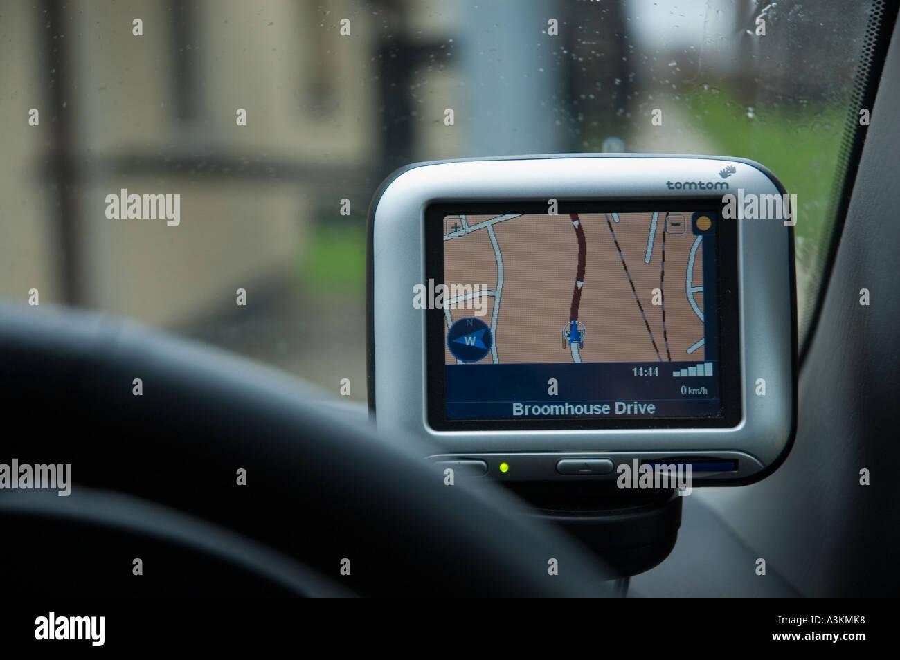 GPS TOMTOM - Stock Image