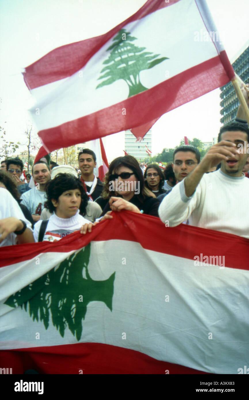 collect together beirut lebanon Stock Photo