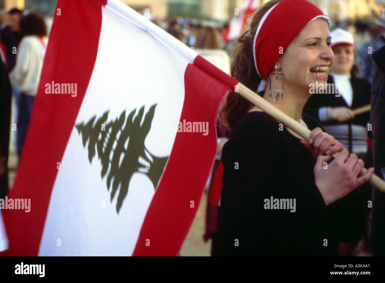 free and easy relaxed beirut lebanon Stock Photo