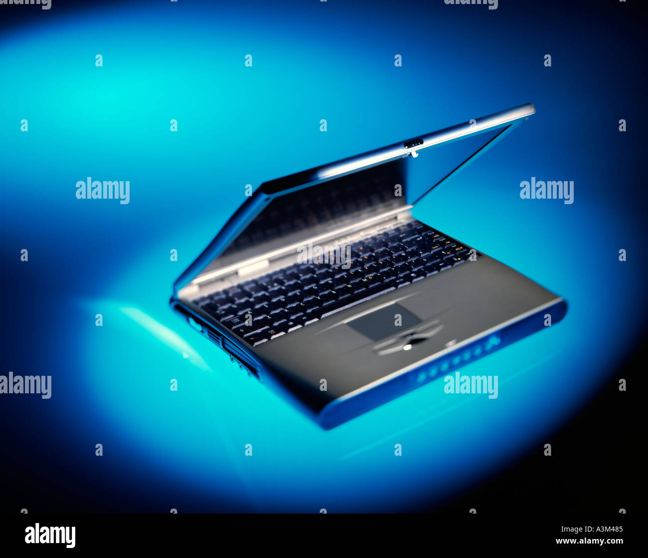 notebook Personal computer - Stock Image