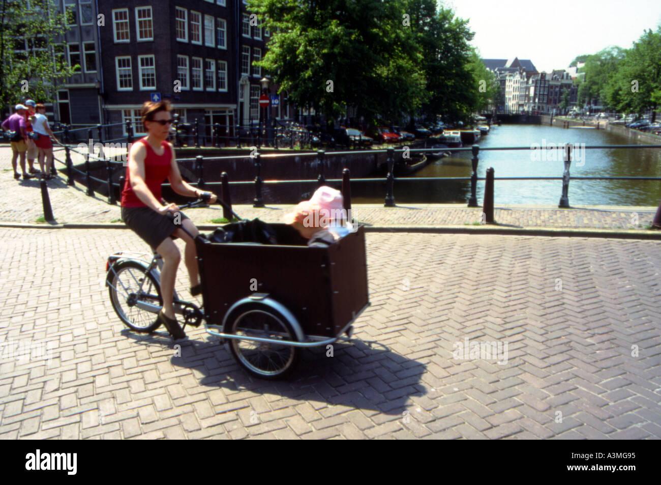 living model amsterdam - Stock Image
