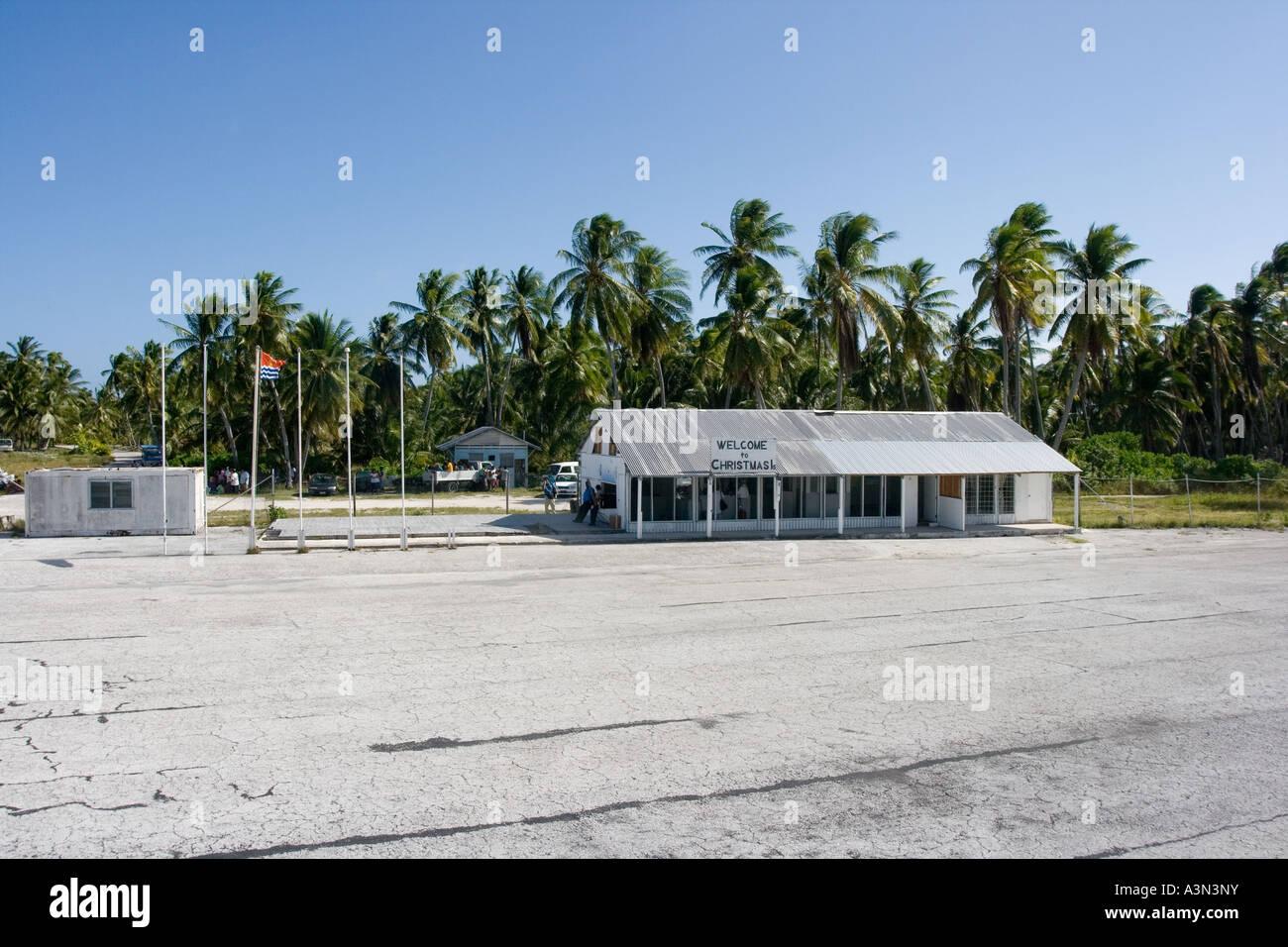 Christmas Island Kiribati Micronesia Stock Photo