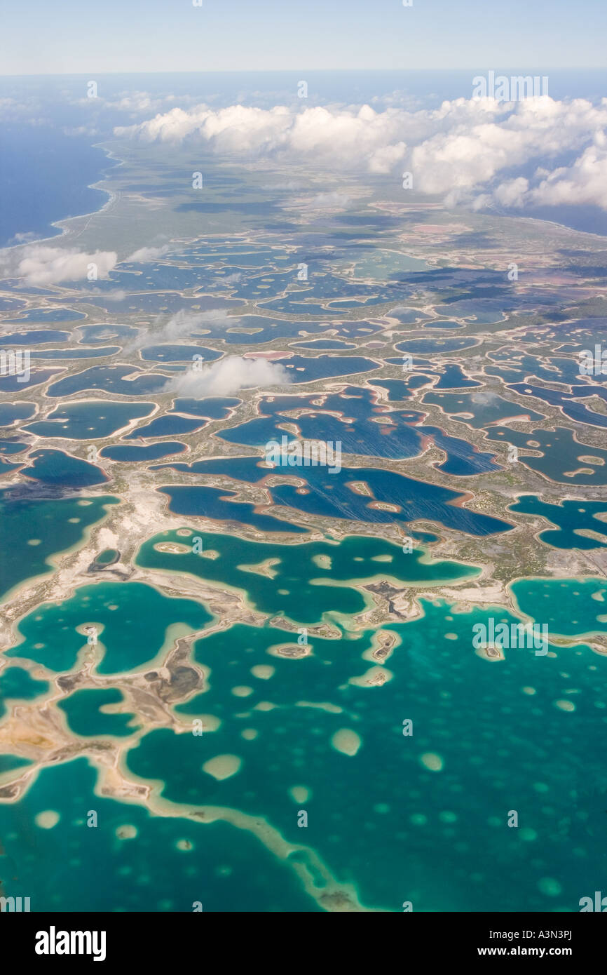 Christmas Island Kiribati Micronesia - Stock Image