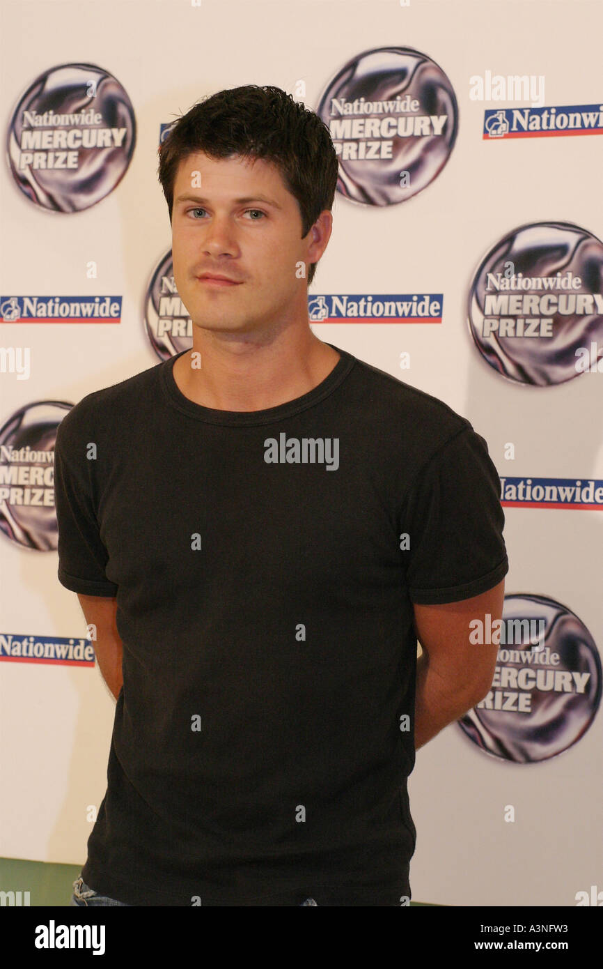 SETH LAKEMAN UK musician in 2005 - Stock Image