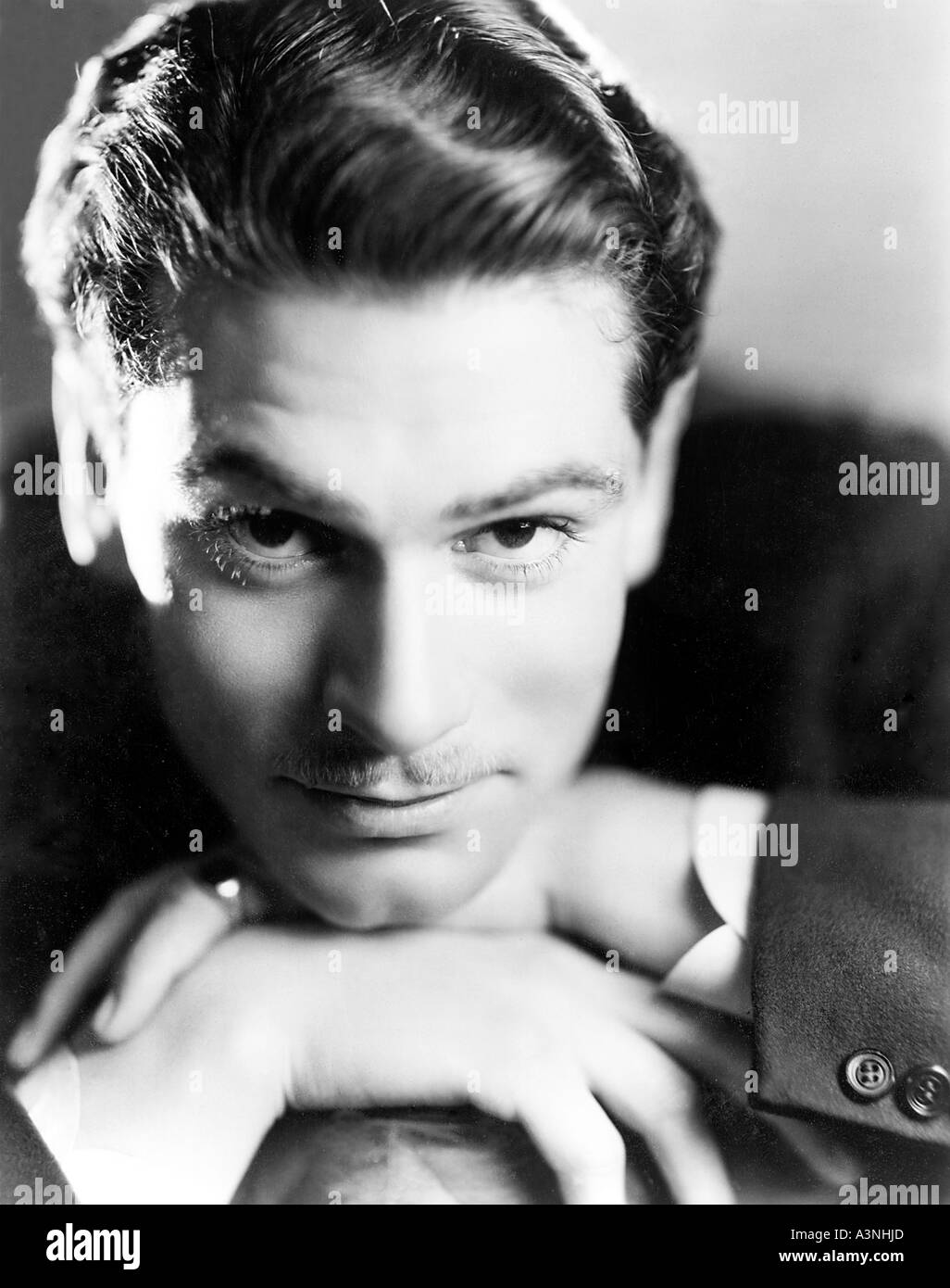 LAURENCE OLIVIER British actor - Stock Image