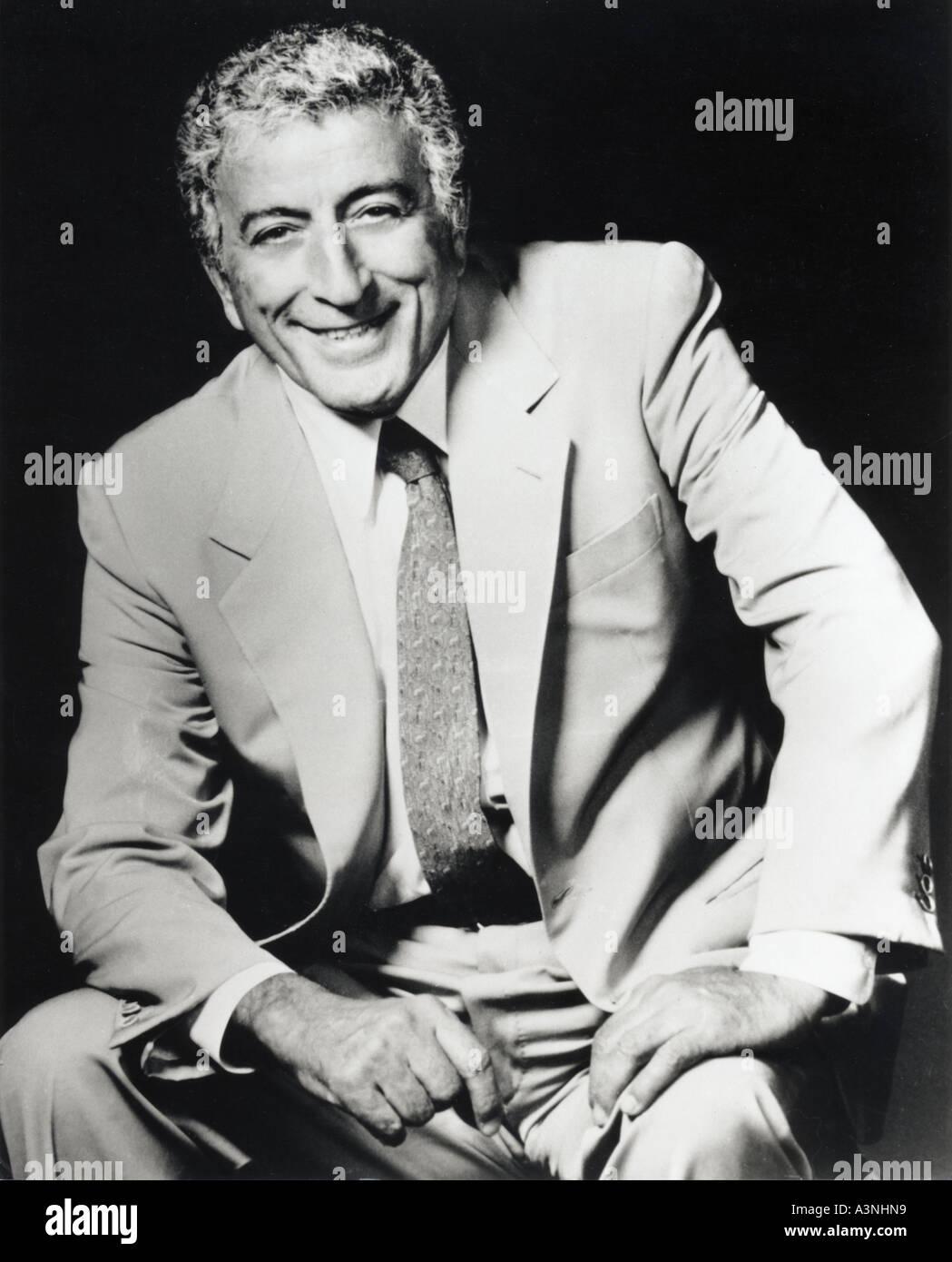 TONY BENNETT US singer - Stock Image