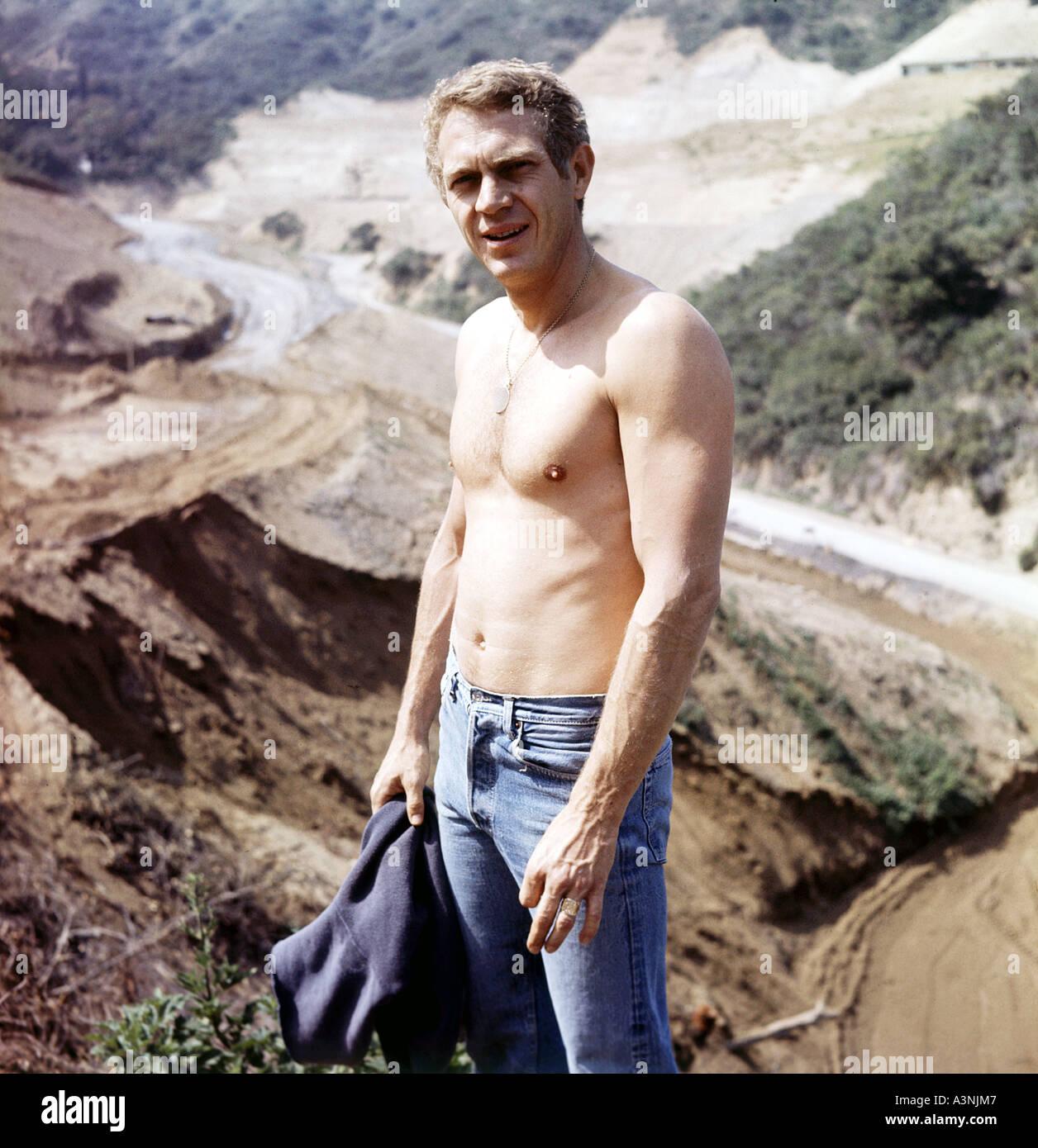 STEVE McQUEEN US actor - Stock Image