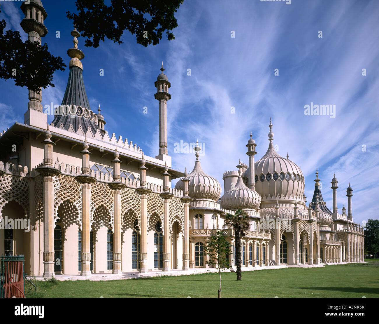 Royal Pavilion Brighton Sussex England UK - Stock Image