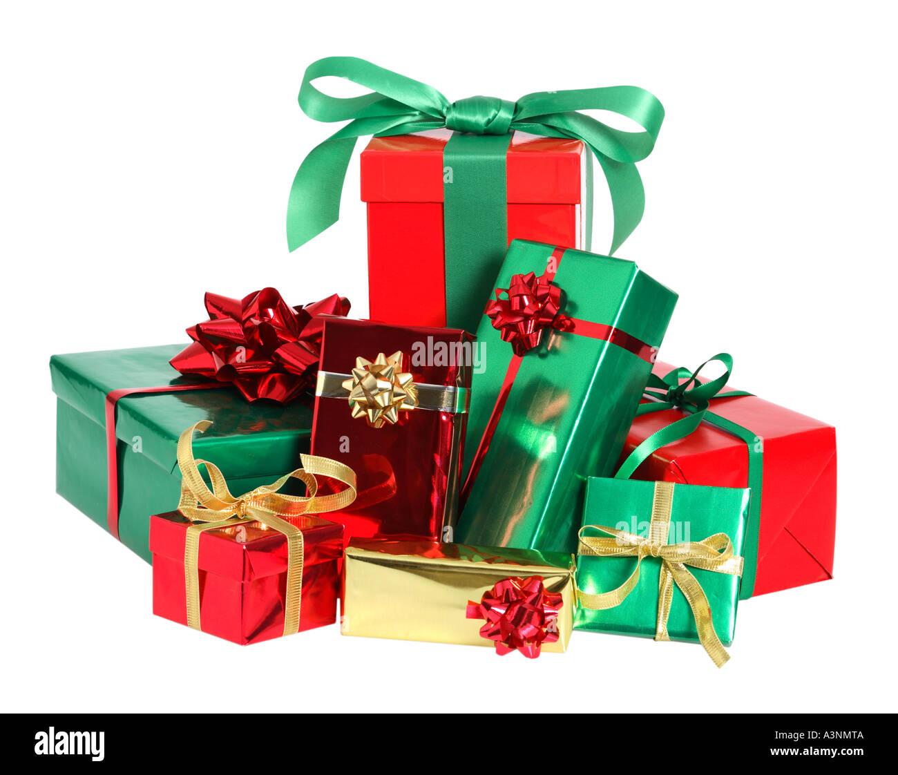pile of christmas presents - Christmas Presents