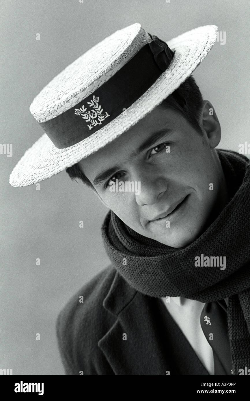 920c85c3a Harrow School Hat Stock Photos & Harrow School Hat Stock Images - Alamy