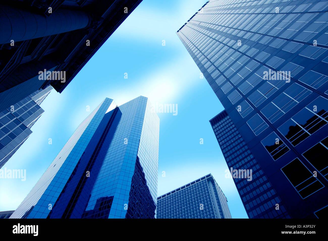 Building horizontal - Stock Image