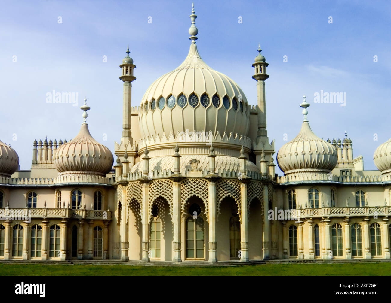 Brighton's Royal Pavilion Stock Photo