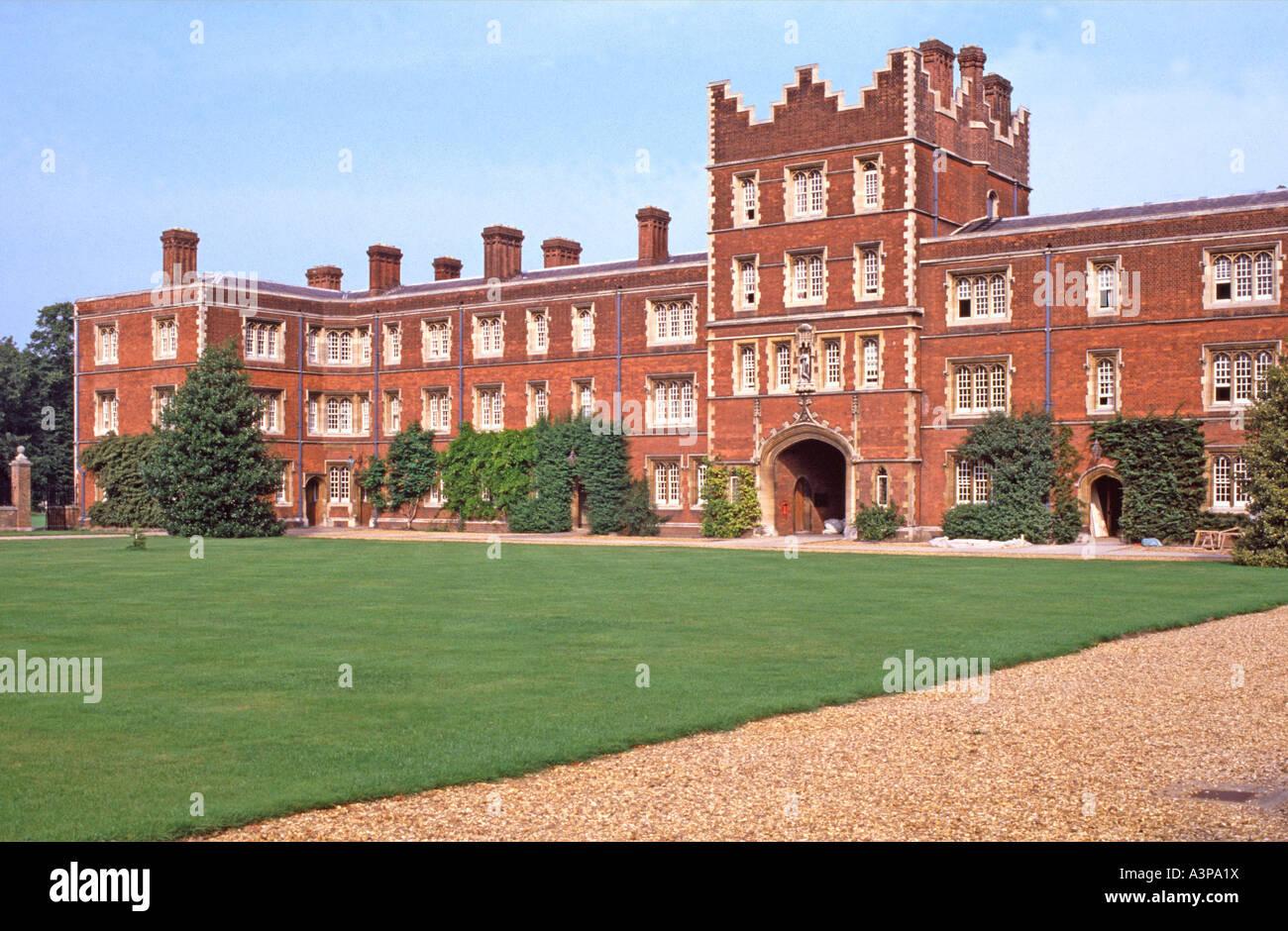 Jesus College University ot Cambridge Cambridgeshire UK - Stock Image