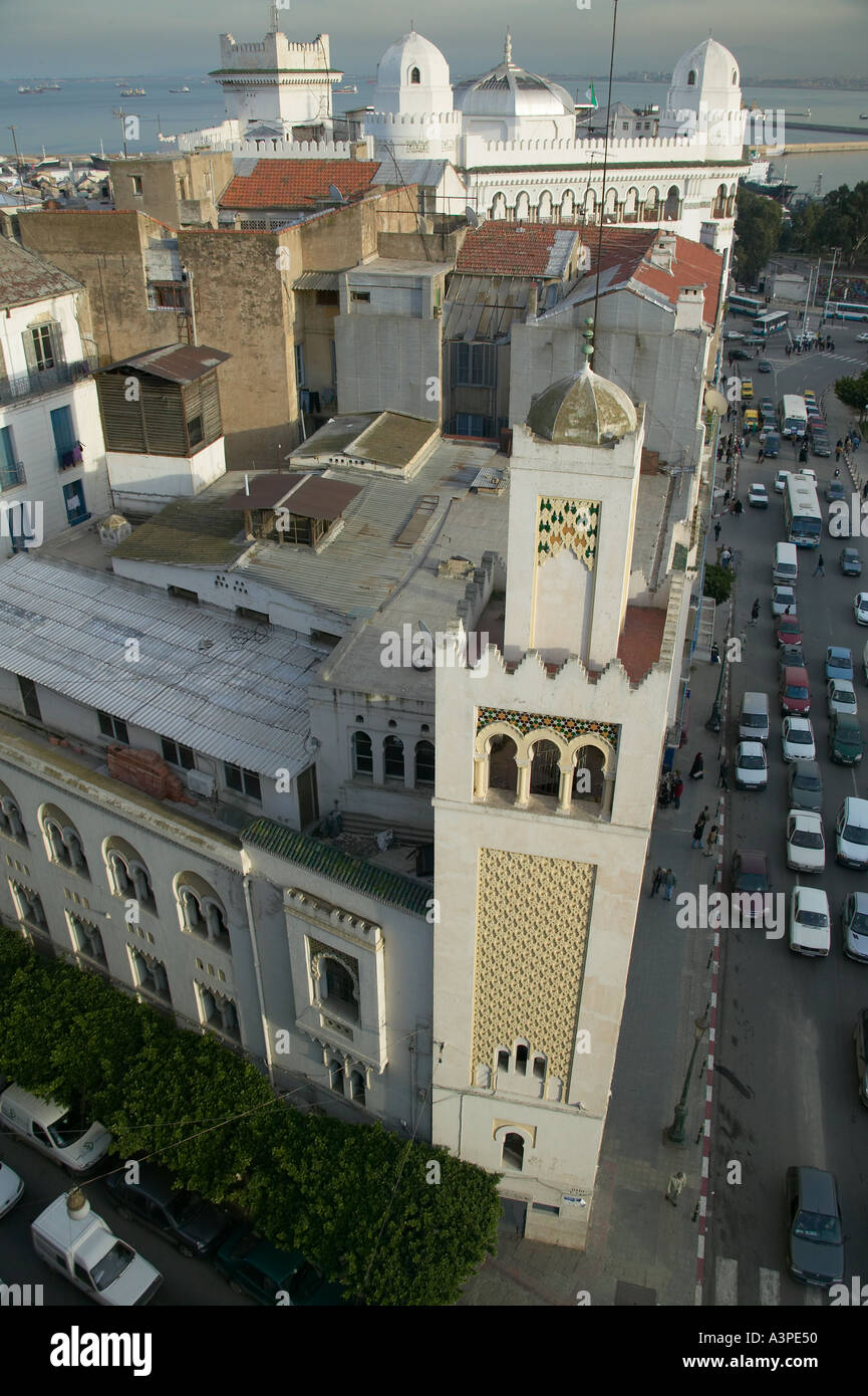 Algiers city center Algeria January 2004 - Stock Image