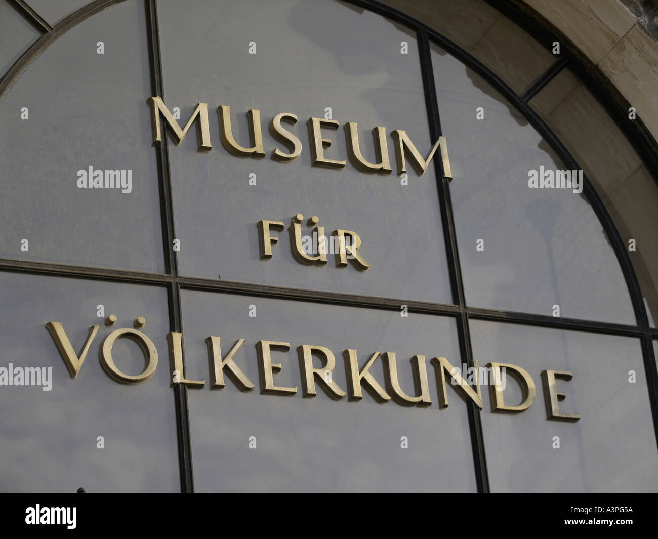 Neue Burg Museum of Ethnology - Stock Image