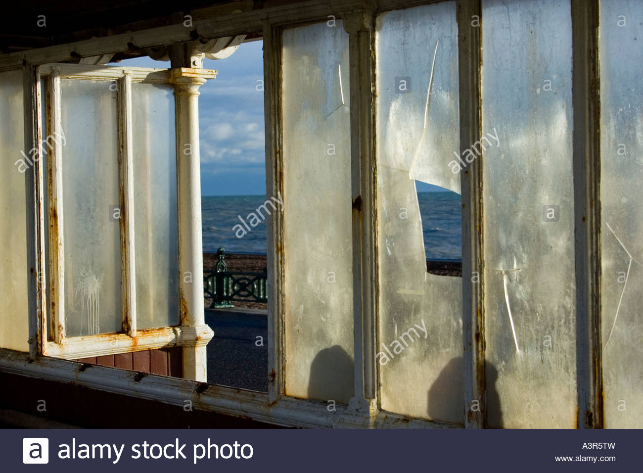 Old Shelter Sussex - Stock Image