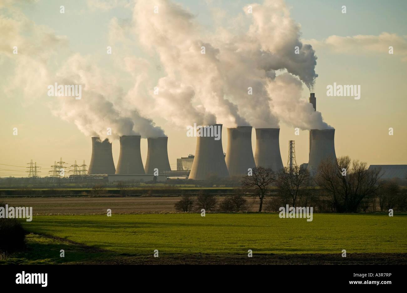 power station - Stock Image