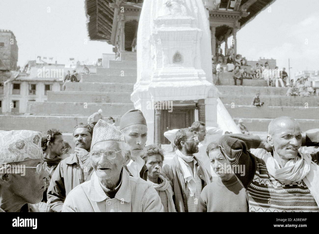 Travel Documentary Photography - Street scene of Hindu