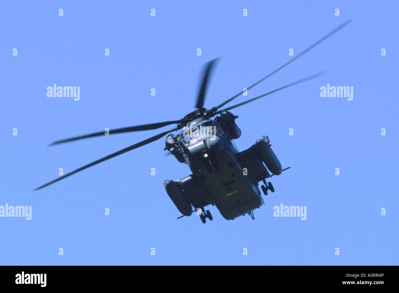 Sikorsky MH-53M Pave Low III operated by 21 SOS, 352 SOG of the USAF Special Operations Command - Stock Image