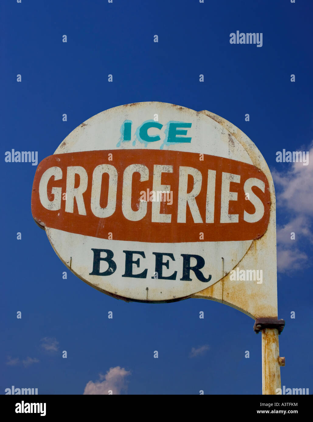 Old Grocery Sign