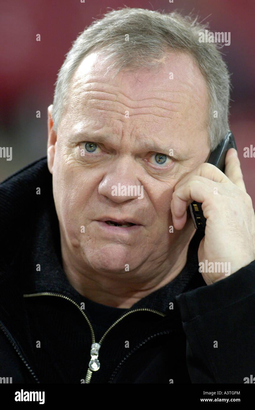 Sports journalist Rolf TOEPPERWIEN - Stock Image