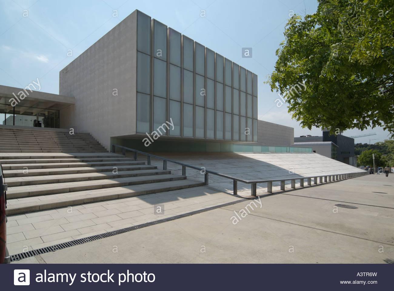 Girona University Law Faculty designed by RCR Arquitectes, Girona
