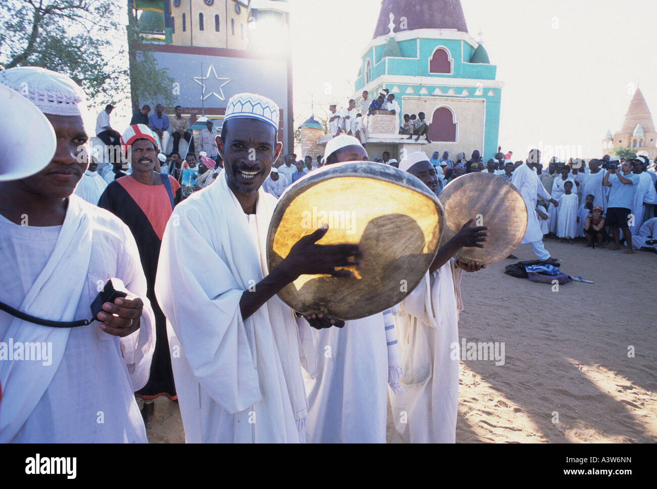 dervish omdurman sudan - Stock Image