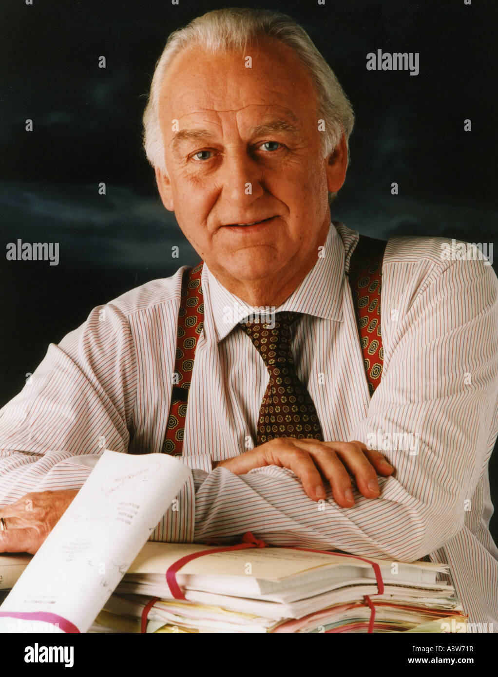 MORSE John Thaw as Chief Inspector Endeavour Morse in the Central/Carlton TV series - Stock Image