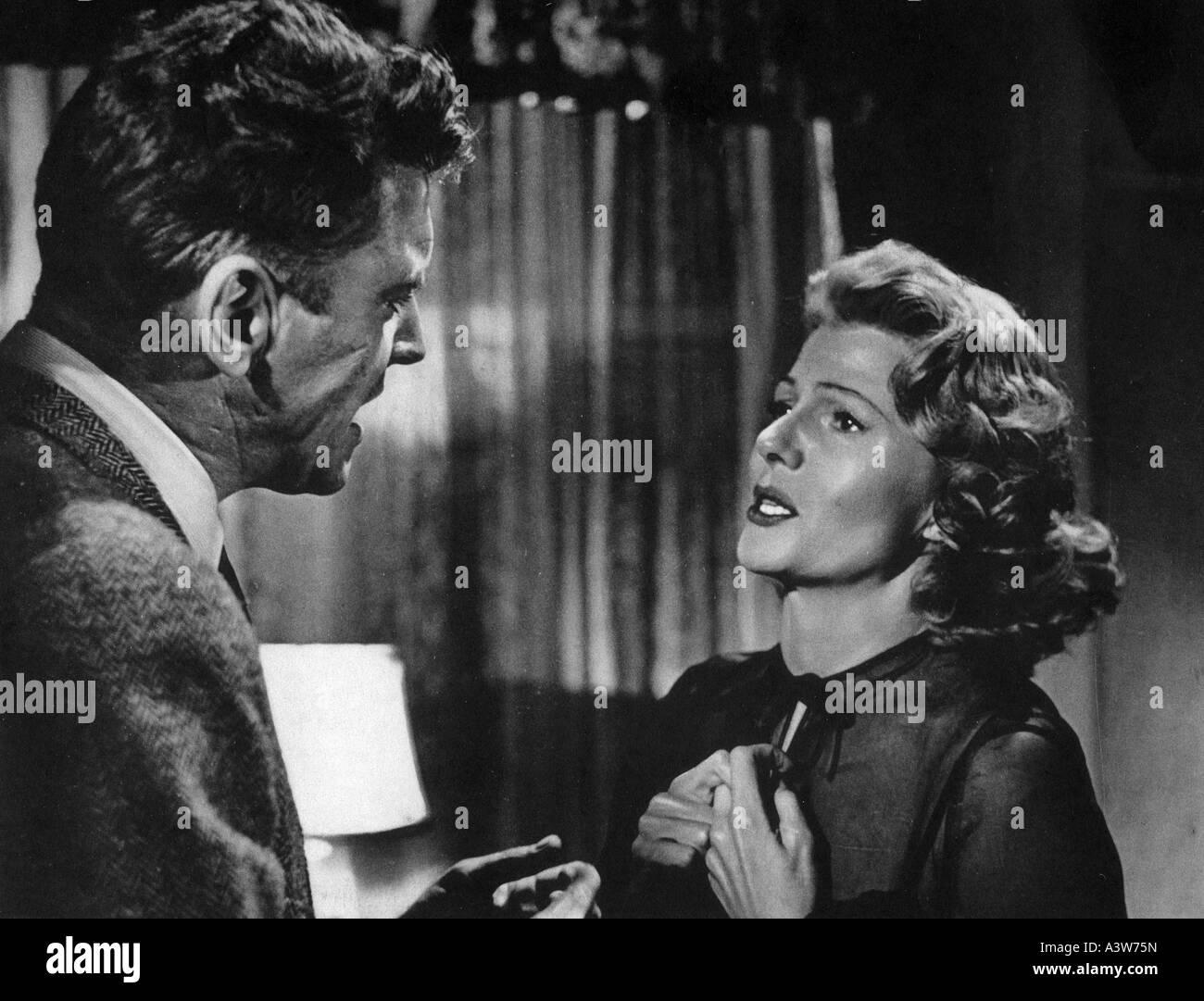 SEPARATE TABLES 1958 UA film with Rita Hayworth and Burt Lancaster - Stock Image