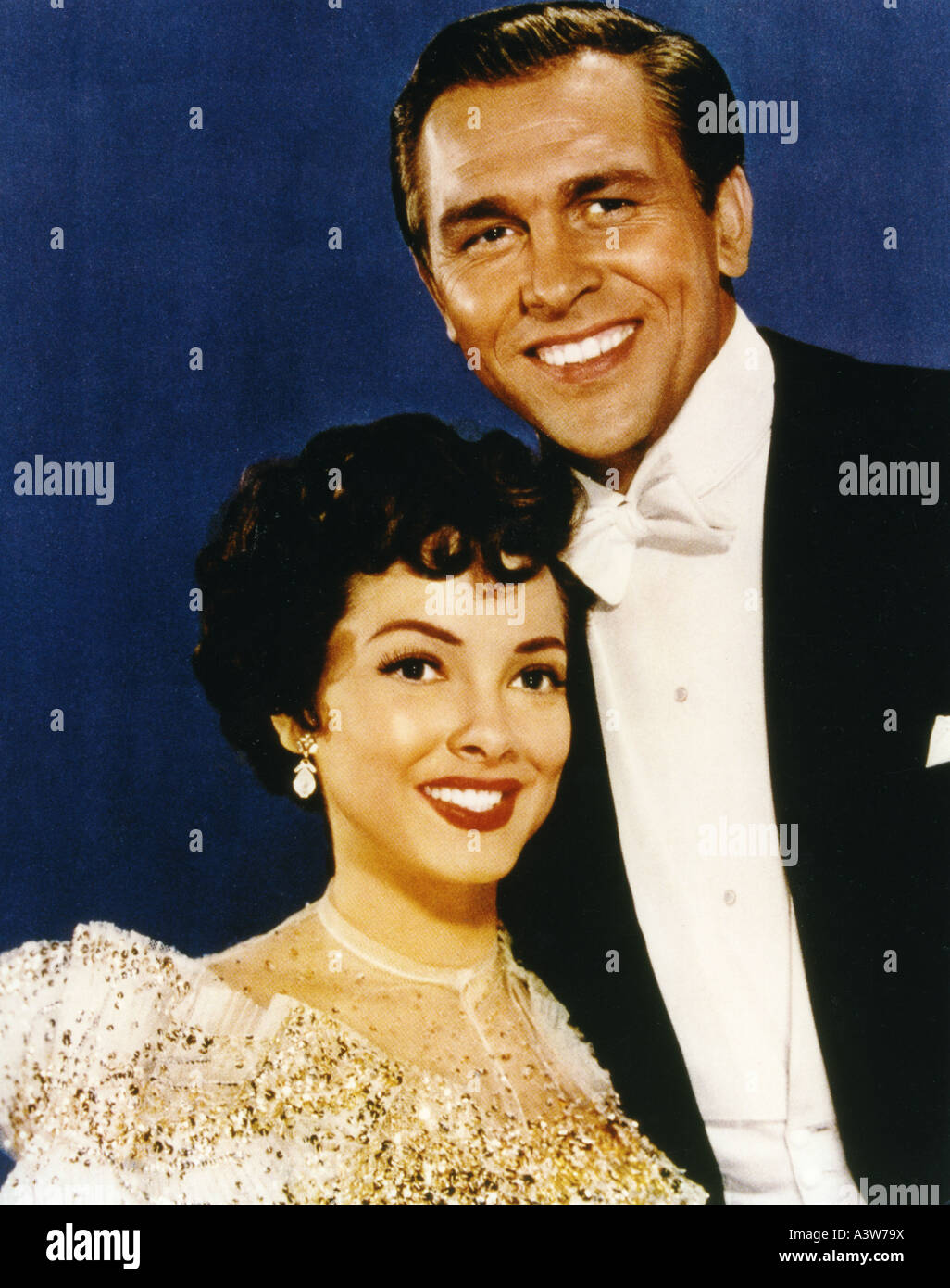 SHOWBOAT  1951 MGM film musical with Kathryn Grayson and Howard Keel - Stock Image