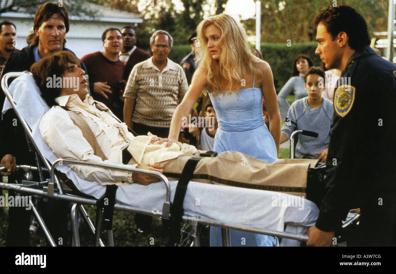 THERE'S SOMETHING ABOUT MARY 1998 TCF film with Cameron Diaz and Ben Stiller - Stock Image
