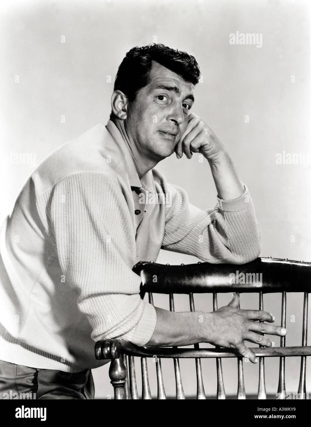 DEAN MARTIN  -  US singer/actor - Stock Image