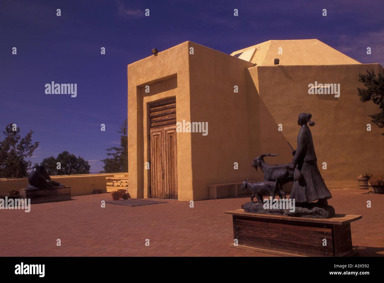 AJ23876, Santa Fe, NM, New Mexico - Stock Image