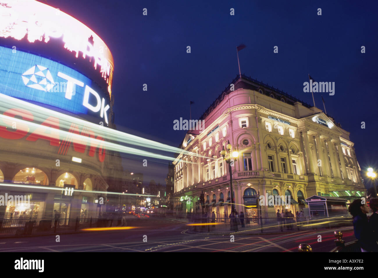 UK England London Picadilly Circus - Stock Image