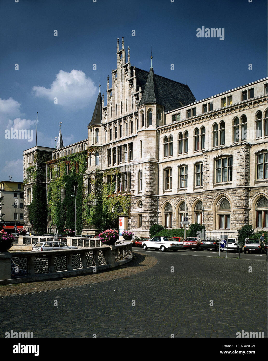 geography / travel, Germany, Niedersachsen, Brunswick, buildings, architecture, Nord LB banking house, exterior - Stock Image
